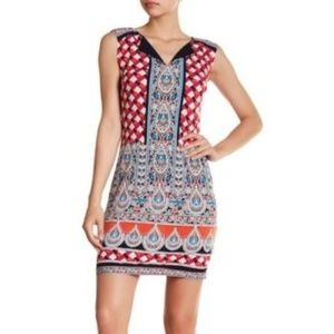 **Laundry By Shelli Segal Printed Jersey Dress NWT